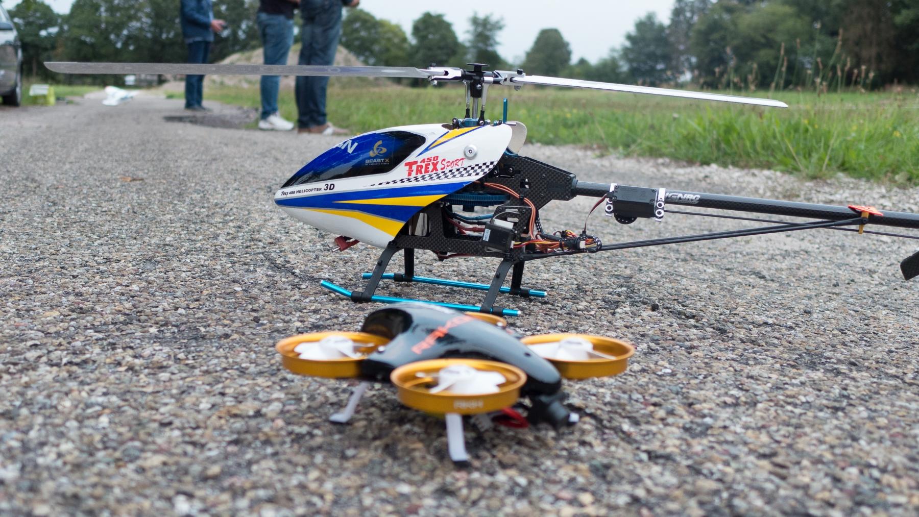 Heli en drone