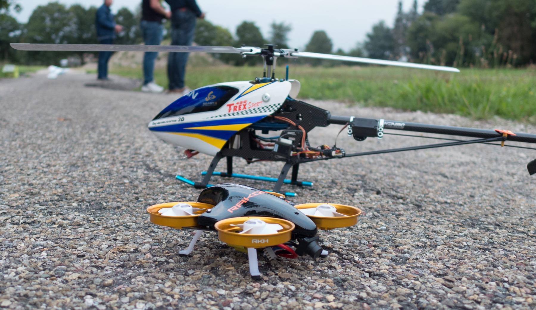 Drone en heli