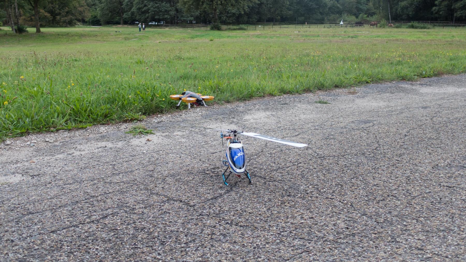 Drones ook gezellig vliegen